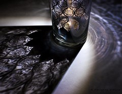 come out of the darkness (marianna armata) Tags: light shadow macro glass closeup night design pattern candle friendship decorative tomi xyz mariannaarmata comeoutofthedarkness
