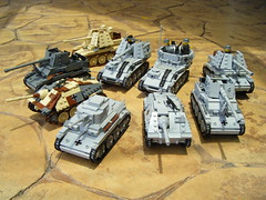 My Panzer 38(t) Family (Lego Major) Tags: lego wwii german skoda panzer38t