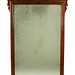 189. Antique Mahogany Mirror