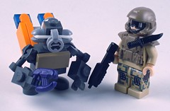 Halo: Reach Grunt (Nick Brick) Tags: army lego anniversary halo marines reach combat grunt evolved covenant unsc