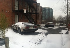 Snow_Days11 (Howard TJ) Tags: cameraphone columbus ohio bw autostitch usa snow color building art classic cars smart car geotagged phone unitedstates stitch drawing howard cellphone cell tagged smartphone columbusohio jefferson delorean stitched snowday merged ccac iphone pickerington howardj 614 43147 iphone4 howardtj43147 howardtj httphowardtjblogspotcom httphtjitsjustaboutme 614artists