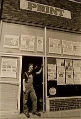 Hatch Show Print 1982 (typesticker) Tags: wood metal shop print hand nashville tennessee made printing posters type letterpress press hatchshowprint devilstailpress paulritscher