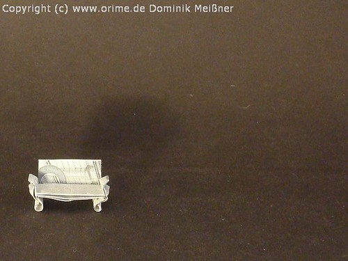 Origami Geld Sofa Couch