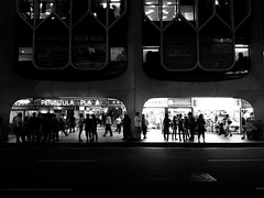 Plaza (Day Garcia) Tags: street blackandwhite art strange night dark lights blackwhite interesting singapore streetlamps streetphotography eerie lonely minimalism cinematic nightphotograph moodyatmosphere darkphotograph nokialumia800