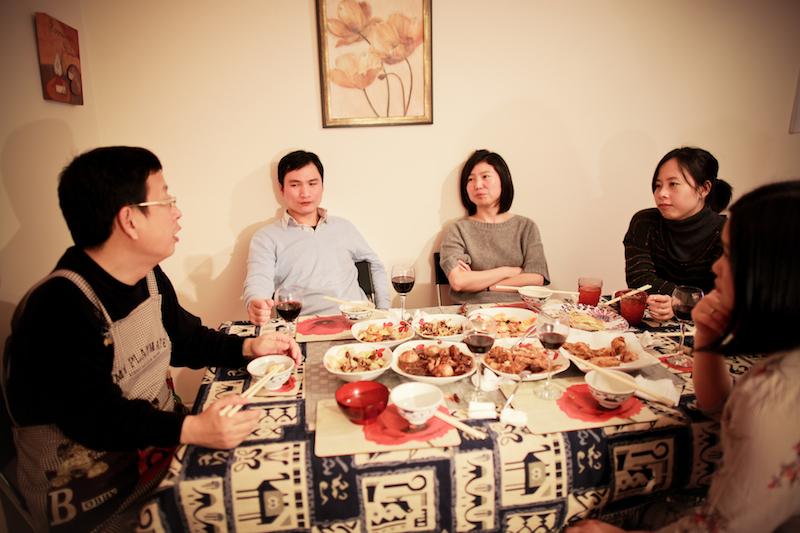 Chen Jie home dinner 027