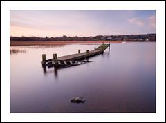 Detached Jetty (Brian Munnelly) Tags: longexposure ireland winter sunset boat jetty detached sligo loughgill aughamore sigma1020 d7000