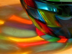 Light Through Murano Bowl (ConanTheLibrarian) Tags: glass stainedglass bowl translucent murano translucence