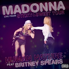 Human Nature (Live) [feat. Britney Spears] (Ernesth Garca) Tags: madonna britneyspears stickysweettour humannaturelive