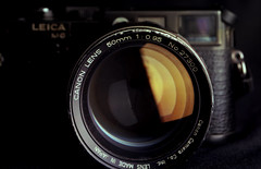 Converted Dream Lens on my Leica M6 (O9k) Tags: camera leica film analog canon mediumformat studio 50mm kodak converted linhof 6x9 standard m6 largeformat schneider cameraporn ektar selfdeveloped 095 homedeveloping symmar dreamlens kardan veiwcamera