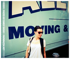Kimber is Moving, Cinton Hill (carly_sioux) Tags: ny film brooklyn photography streetphotography pointshoot picturesofyou paparazza carlysioux
