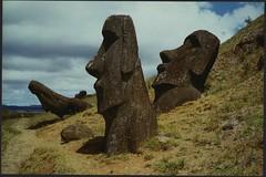 Easter Island 2004 (Scanner Pizza) Tags: chile easterisland velvia100f summicron50mm leicamp