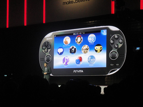 CES 2012 - Sony press event - PS Vita