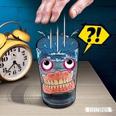 Can You Sleep With Dentures? ('G U S T A N D O' - www.gustando.com.br) Tags: fun crazy funny object objetos engraado divertido maluco gusta vicentini gustando