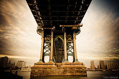 New York City Manhattan bridge USA