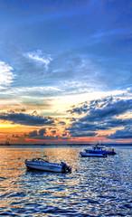 Melawai Jan 2012 HDR 4 (Mythgarr) Tags: beach canon eos tripod hdr 450d melawai