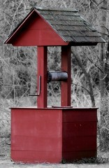 Red Well (SeptemberRayne) Tags: red cute small well coloring selective