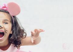 """Rawrrrr """"L"""" !! (Rawan Mohammad ..) Tags: pink cute mouse kid minnie mohammad 2012  rawrr rawan"""