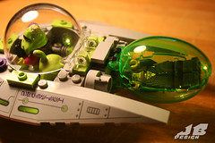 IMG_4130 (JamesButterly) Tags: desktop light night toy james lego alien butterly 2012 ambiance