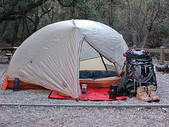 Chiricahua National Monument - Bonita Campground (Al_HikesAZ) Tags: county camping arizona usa monument spur big hiking az tent hike adventure national bonita copper agnes campground cochise chiricahuas chiricahua cochisecounty chiricahuanationalmonument bigagnes ul2 azhike alhikesaz copperspur copperspurul2 bonitacampground