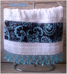Toalha Lavabo (**DASDE Artes!**) Tags: pedrarias toalhademo aplique toalhalavabo toalhadevisita toalhasocial