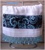 Toalha Lavabo (**DASDE Artes!**) Tags: pedrarias toalhademão apliquée toalhalavabo toalhadevisita toalhasocial