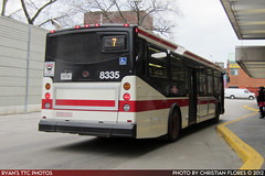 8335_20120204_IMG_0571 (R. Flores) Tags: new toronto bus buses america diesel ttc north next transit orion ng commission generation vii industries daimler epa 2010 07501