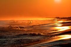"Ocean waves Super Bowl Sunset (Darren-) Tags: ocean sunset sea ny newyork beach waves longisland superbowlsunday flickraward5"" ringexcellence blinkagain dblringexcellence tplringexcellence nikond5100 eltringexcellence"