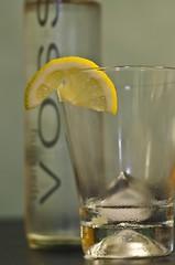 WET! (JustaMonster) Tags: water lemon icecubes voss sparkling odc2 ourdailychallenge ijustkeptthebottleitisntsparklinganymore