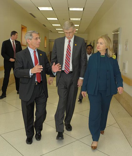 Secretary of State Hillary Rodham Clinto by NIAID, on Flickr