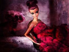 ROSE...... (NylonBleu) Tags: texture robert saint rose happy day go barbie best valentines valentin mattel lightly silkstone nylonbleu