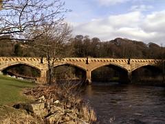 Station Bridge (circa 1845) (ralph&dot) Tags: bridge yorkshire bridges richmond