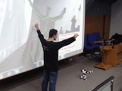 Robosapien + Kinect = Kontrol Sizsiniz