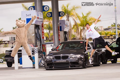 Pit Stop w/ Ted on Targa (carninja) Tags: ted bmw m3 kw sparco nitto e92 hrewheels libertywalk carninja targatrophy