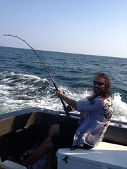 """Trolling in the Gulf of Mexico... """"Fish ON"""" (saltydogfishingcharters) Tags: trolling saltydogfishingcharters"""