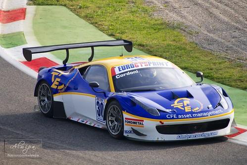"Ferrari Challenge, EuroV8Series, EuroGTSprint • <a style=""font-size:0.8em;"" href=""http://www.flickr.com/photos/104879414@N07/13651962283/"" target=""_blank"">View on Flickr</a>"