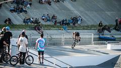 Finale BMX street Fise world Montpellier 2016 (Trialxav) Tags: world park street sports bmx events extreme montpellier ledge rails pro quarter extrem 2016 fise