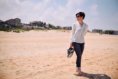 (The Aslier) Tags: sun beach girl vero hardlight