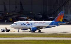 Allegiant - N310NV - A319-112 (Charlie Carroll) Tags: tampa florida tampainternationalairport ktpa