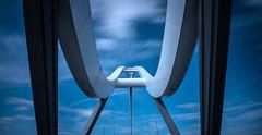 _DSC9766 (adam_reynolds) Tags: bridge sunset water river infinity stockton tees
