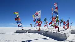 salt flats flags