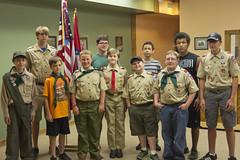 DJT_1558 (David J. Thomas) Tags: boyscouts arkansas bsa courtofhonor batesville stpaulsepiscopalchurch meritbadges rankadvancement troop220