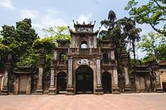 An Impressive Gate of Vietnam (hmak0) Tags: old architecture ancient travels nikon gate asia wideangle tokina vietnam explore historical perfumepagoda northvietnam 1116mm d5100