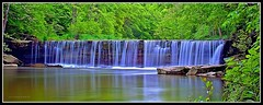 Friday Morning (J Michael Hamon) Tags: camera longexposure panorama nature water 35mm lens landscape outdoors waterfall spring nikon scenery widescreen falls filter nd nikkor waterscape hamon neutraldensity d3200 photoborder