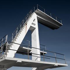 Diving Tower (lars1387) Tags: norway fujifilm akershus asker xt1