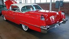 '56 Cadillac 2-Door Hardtop #3 (artistmac) Tags: cars vintage gm antique auction indianapolis indy indiana cadillac area gavel luxury automobiles staging representative generalmotors in mecum stagingarea standardoftheworld showyourauto patrickkrook