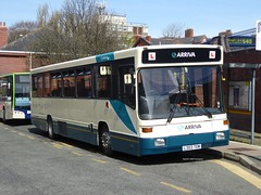 Arriva North West, 8203 [L303TEM] - Wigan (21/04/16) (David's NWTransport) Tags: volvo alexander strider arriva volvob10b arrivanorthwest l303tem alexanderstrider