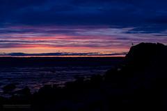Body Control (Normann Photography) Tags: sunset sea color silhouette norway rocks dusk no brush shore lr vestfold bodycontrol pscc mountainparkour