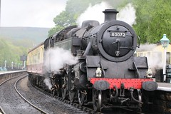 80072 at Grosmont (Michael@H) Tags: br yorkshire standard grosmont nymr riddles class4 264t 80072
