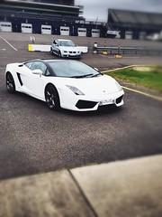 Lamborghini  (alexmoreton1) Tags: racecar speed fast racing experience lamborghini supercar corby dayout iphone rockingham fastcar rockinghammotorspeedway iphone6s