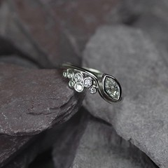 Silver Engagement Ring (loxy681) Tags: jewellery ring necklace jewellers wedding engagement eternity